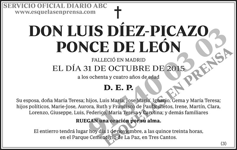 Luis Díez-Picazo Ponce de León